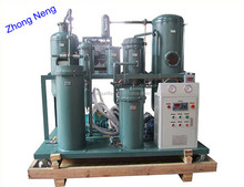 TYA oil purifier has been developed as a conditioner for hydraulic, lubrication compressor oil, machinery engine oil, mediate-lo