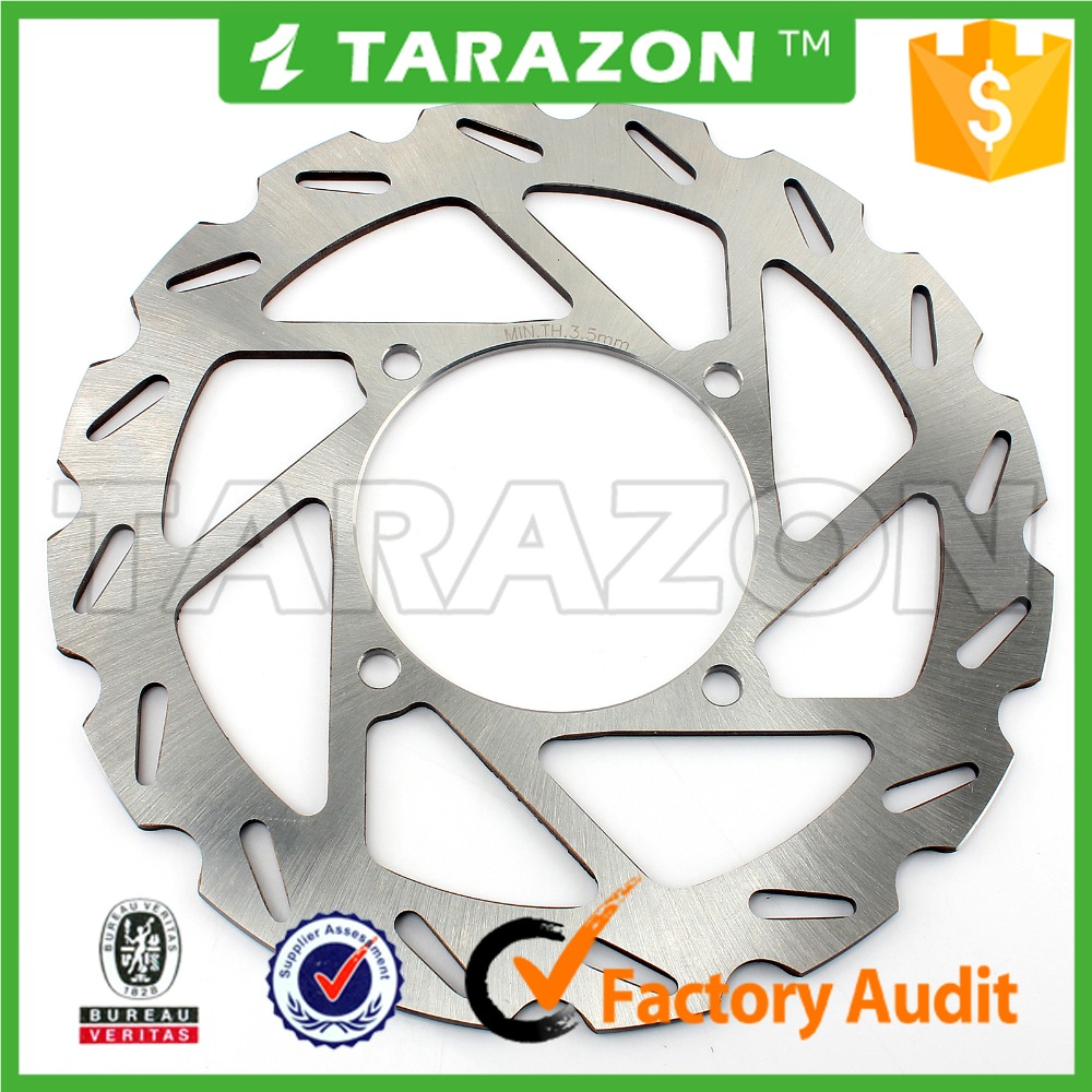 motorcycle cheap ATV quad bike 227mm front disc brake rotor for POLARIS