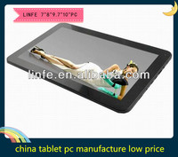 chinese pc manufacture wholesale direct buy from alibaba white brand tablet pc