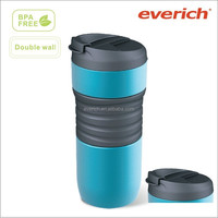 16OZ powder coating stainless steel tumbler mug with sleeve