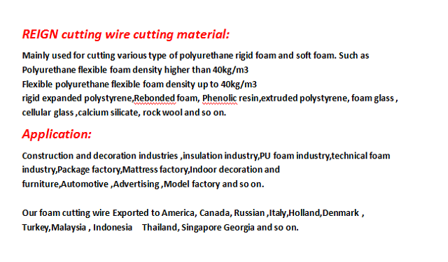 Factory supply endless fast wire abrasive wire for CNC polyethylene wire cut