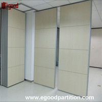 movable sound proof partition wall for office interior design