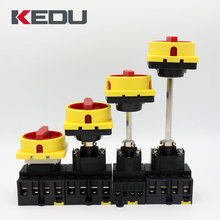 KEDU ZH-M 63A 3P Panel Mount Non Fused Isolator Switch