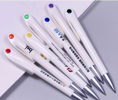 cheap custom logo sublimation promotion transfer pen Advertising Plastic Ball Point Pen