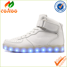 2016 Cokoo New men's fashion sneakers black running shoes male lighted casual shoes LED glow shoes International