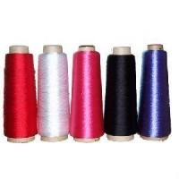 100% polyester yarn, DTY,150D/48F glow in the dark polyester yarn