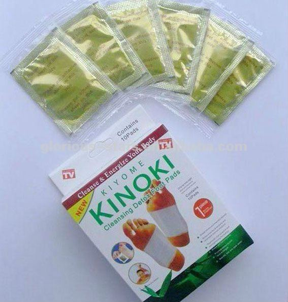 gold kinoki detox foot patches new