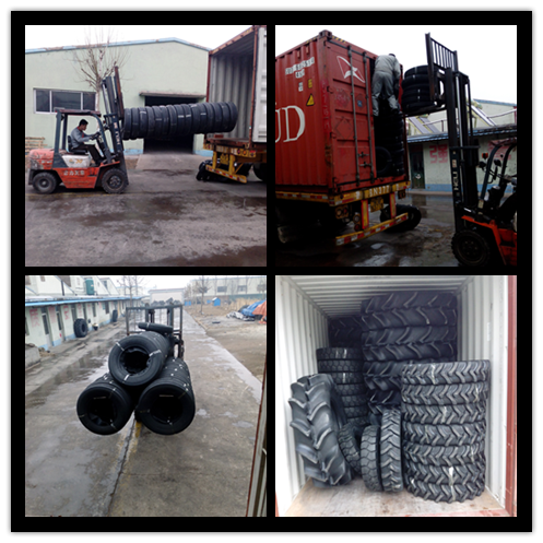 4.00-8, 5.00-8 Forklift Solid Tire With High Quality Solid Industrial Tire