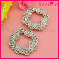 Fashion Rhinestone Silver Nickle Color Stone