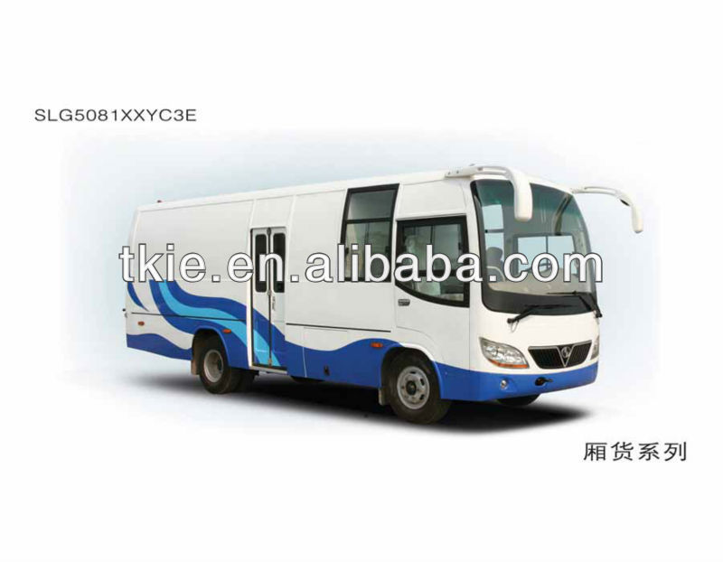 7.5meter SLG5081XXYC3E commercial trucks and vans