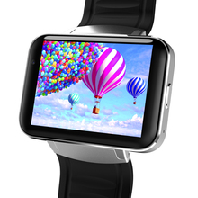 3g Android 4.4 MTK6572 GPS 2.2 Inch Big Touch Screen for Skype Video Call Smart Watch DM98