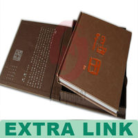 high level hard cover book collect printing