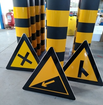 China cheaper price road traffic sign high visibility street safety road sign