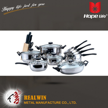 Wholesale top selling cookware brands stock pot