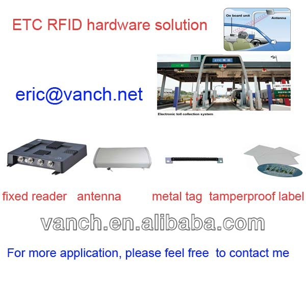 Factory price fcc certified uhf rfid passive reader with 15 meters (Gen 2)