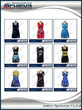 Custom Design lycra netball dresses netball uniforms, netball dresses