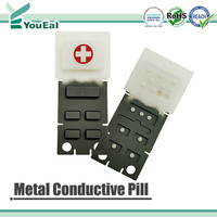 Metal Conductive Pill for Keypad