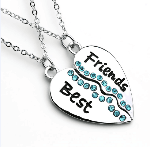 Best Friend Necklaces Costume Jewelry