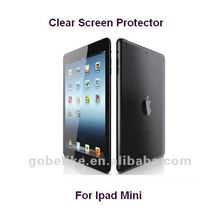 Newest! whole sale price!!! For Ipad Mini Clear screen shield/screen guard