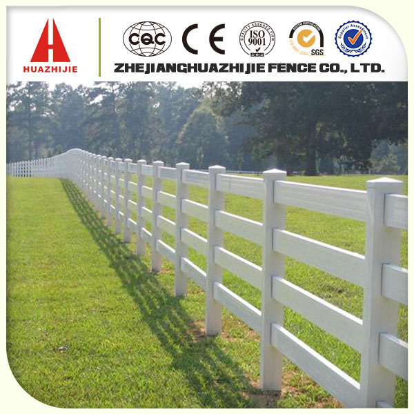 Bestselling plastic horse rail fence designs for farm
