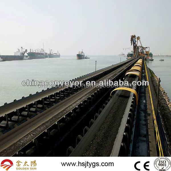 Belt Conveyor For Stone,Ore,Sand,Concrete