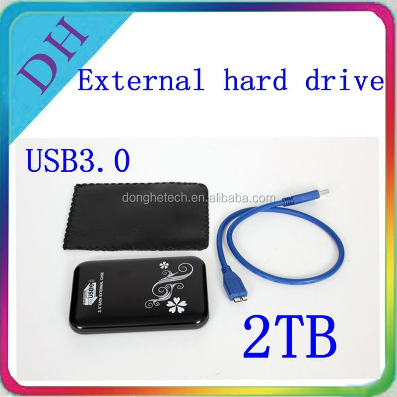 hot sell hard disk external USB3.0 2tb 2.5 hdd for storage