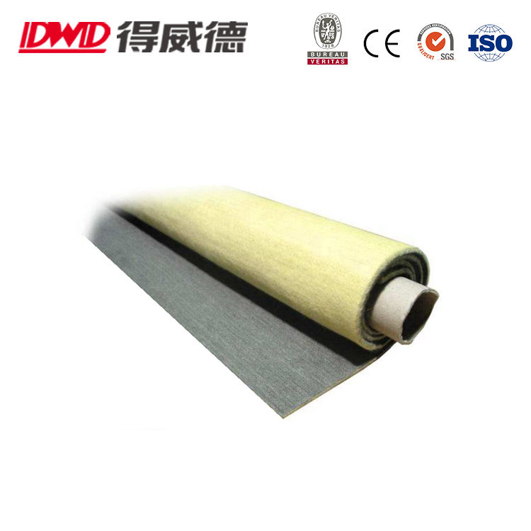 Synthetic and Technical Textile Products Stainless Steel - Aramid Nonwoven Needle-felt Fabrics