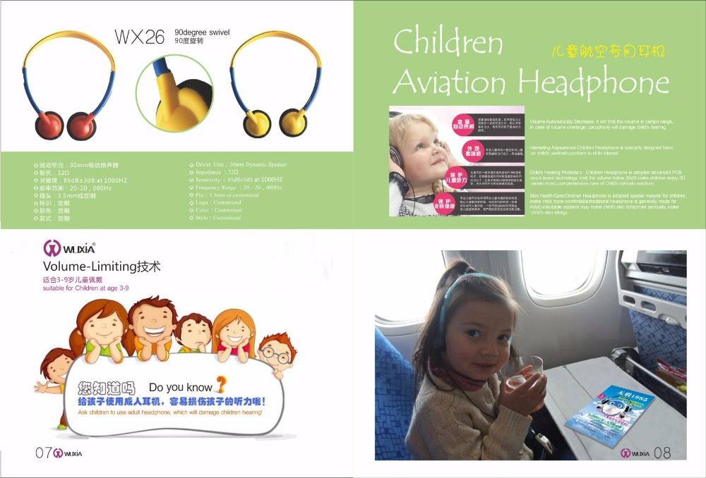Lightweight Headphone for child headband for children
