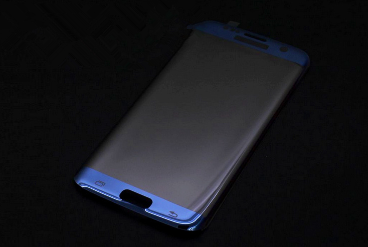 Best quality 3D electroplating Cuvred Glass Screen Protector For galaxy s6 edge