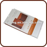 new design paper box for Ipad leather case, package box for Ipad2, Ipad packaging box