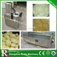 stainless steel multifunctional industrial potato spiral chip cutter machine