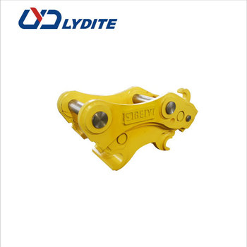 Attachments supplier LYD produce excavator hydraulic quick coupler machine excavator quick hitch and quick coupler for grabber