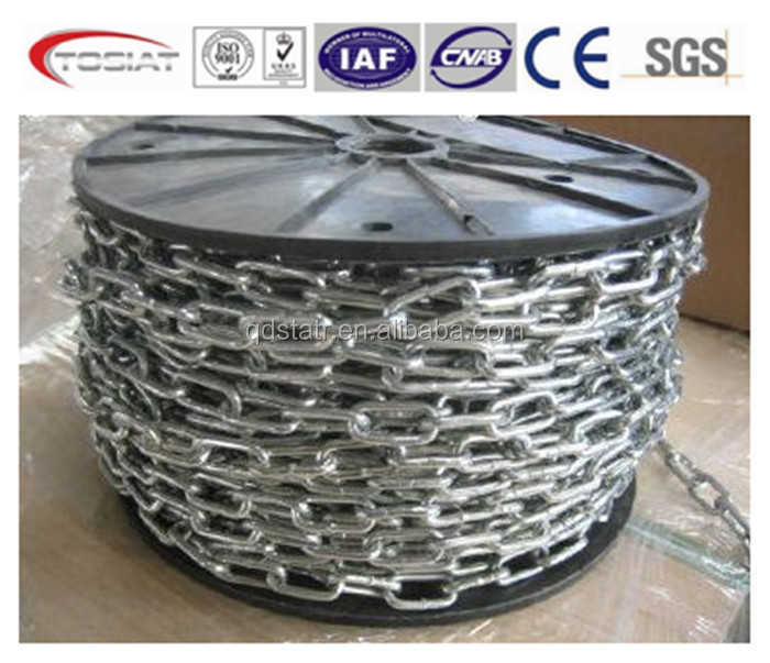 High Quality American Standard Long Link Chain Manufacturer