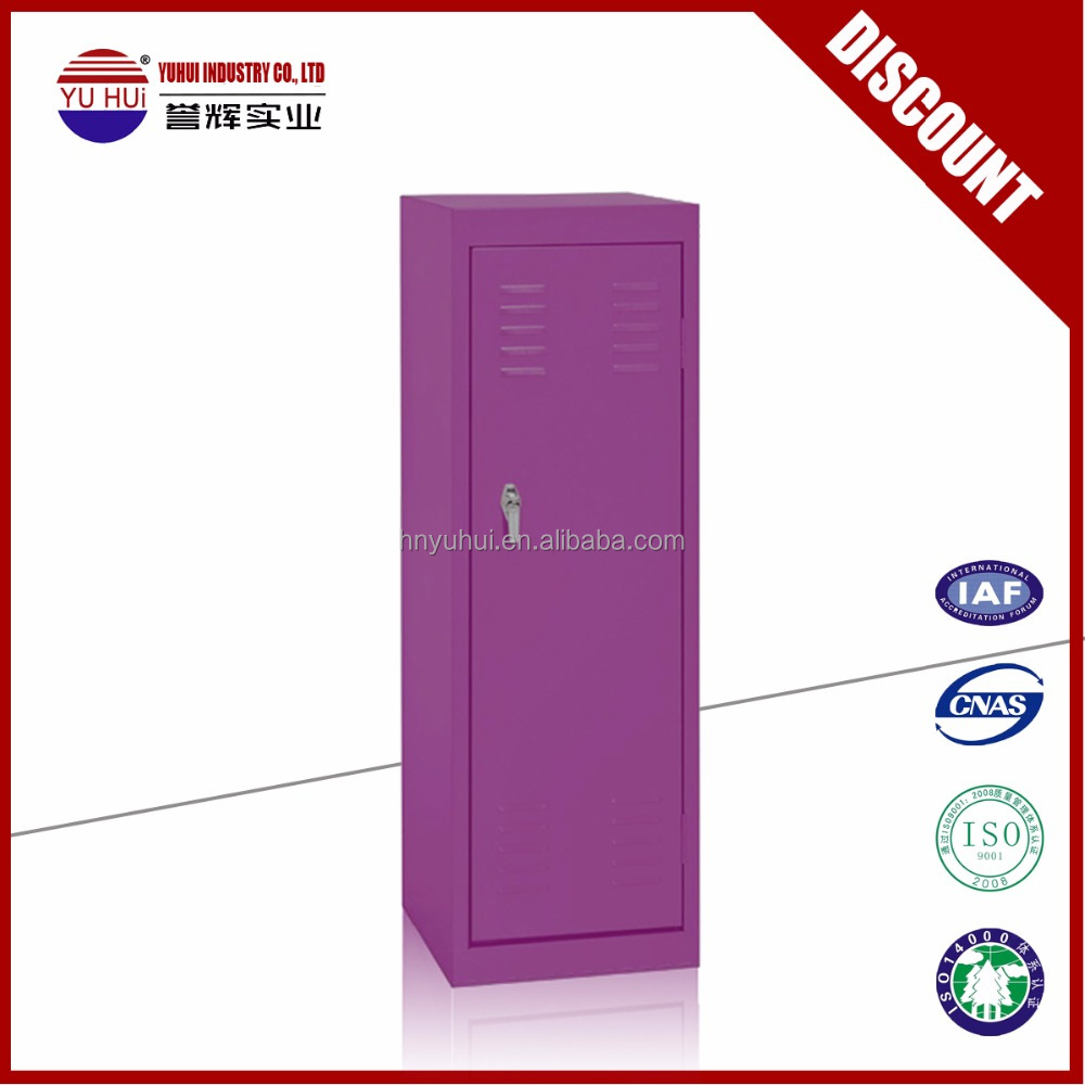 environmental powder coating colorful steel children cupboard