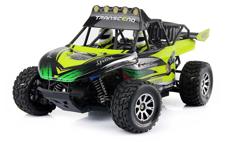1:18 Desert 4WD Electric Off Road RC Car vehicle monster truck