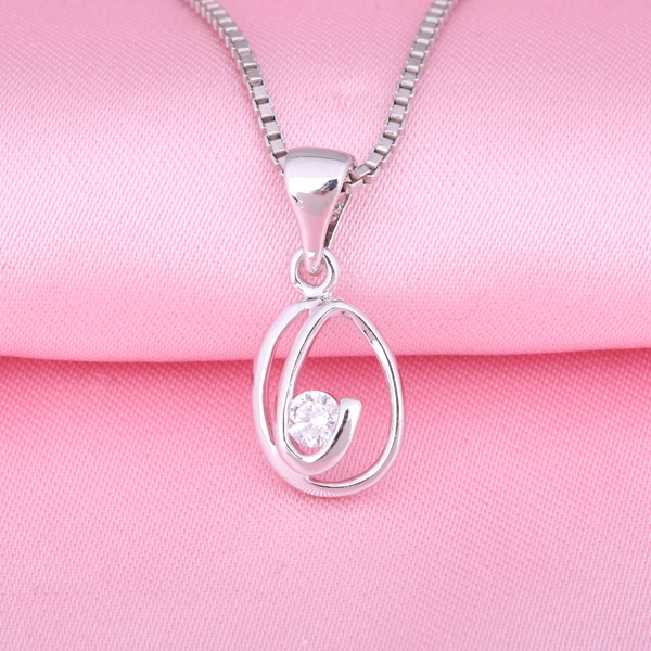 Zhefan imitation jewelry design silver pendants charms for teen