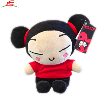 CHILDREN KOREAN ANIME CHARACTER AURORA PUCCA PLUSH TOY