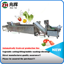 Vegetable machine/baby carrot cutting washing peeling drying production line/carrot peeler machine