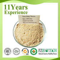 100% pure Sheep placenta extract powder,free sample bulk Sheep placenta extract