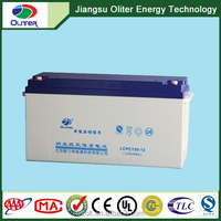12v 150ah gel battery for solar system