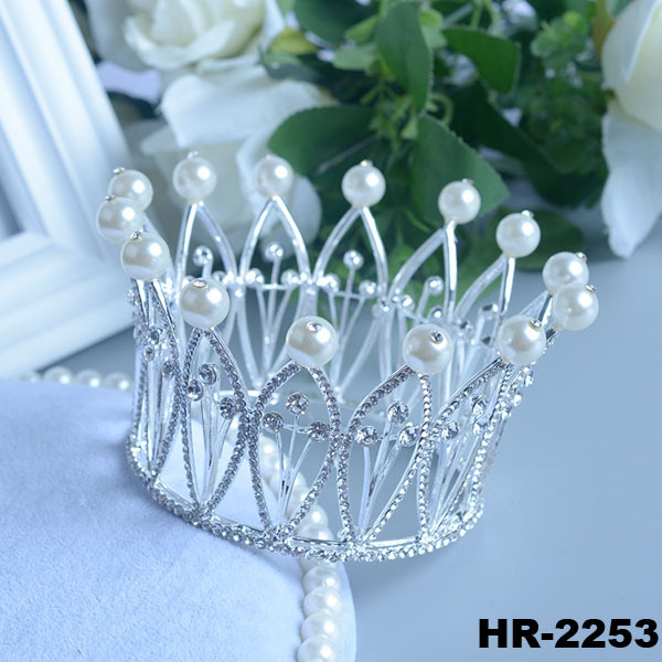 Hair accessories fashion jewellery princess hair crown indian wedding jewelry for brides large crystal crown charms crown tiaras