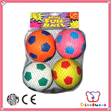 SEDEX Factory promotional Stuffed Soft mini football rubber ball