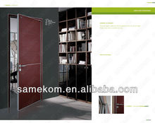 China Apartment wood Door Factory