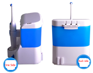 Ultra Dental Water Jet Flosser with wall-mounted function mouth wash dispenser