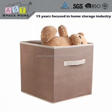 Folding cube fabric storage box things