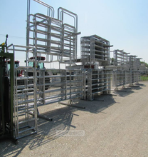 Cheap PVC cattle fence, goat fence panel, fence rail fence