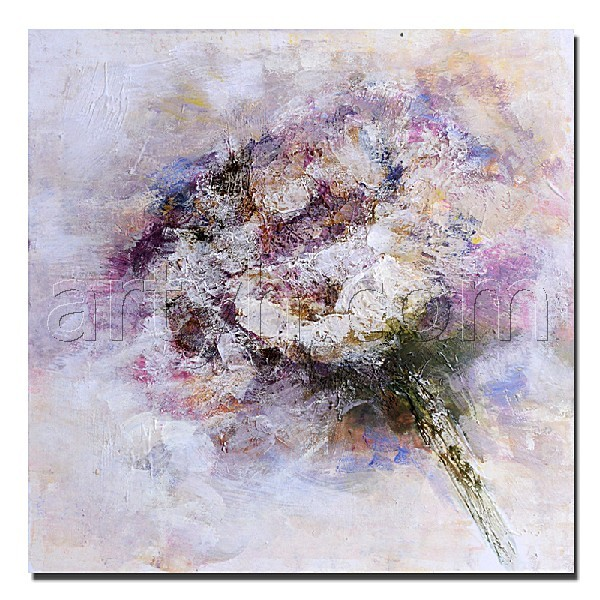 Abstract Poppy flower painting wall pictures for living room
