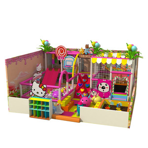 Cheap commercial amusement equipment indoor playground for sale