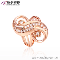 12531- xuping top level high quality lots sterling silver rings