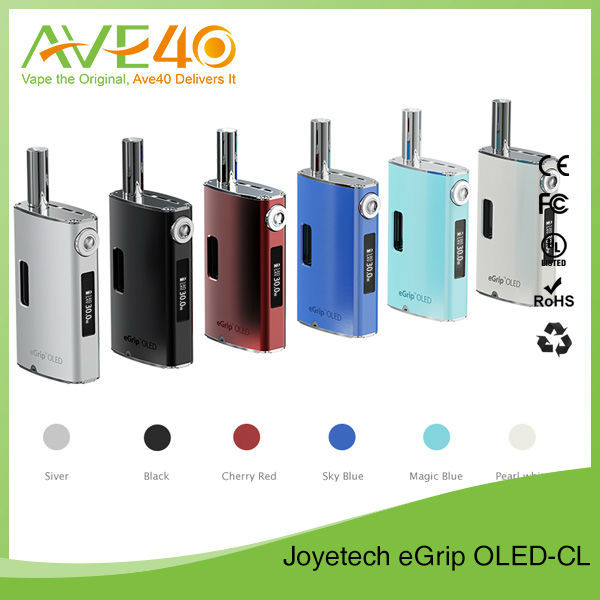 High Quality Joyetech Egrip OLED CL Coil Electronis Cigarette Egrip CL/CS/RBA Atomizer 3.6ml Egrip OLED CL 2 Kit Wholesale